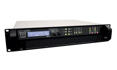 iK42 Four-channel Class D amplifier