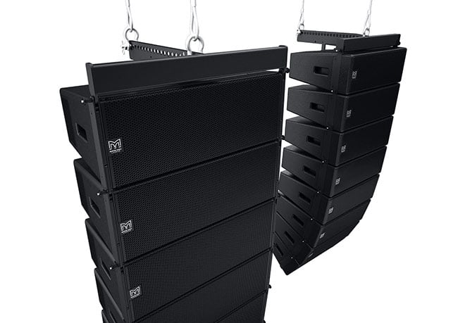 Wavefront Precision. Passive Optimised Line Array Speakers
