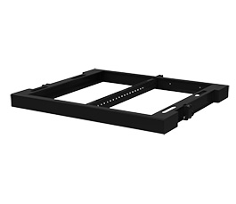 T12GRID / T12GRID-W. Flying frame for vertical T12 arrays, available in black or white