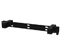 T12PB / T12PB-W. Simple rigging bar for vertical arrays of T12 cabinets, available in black or white