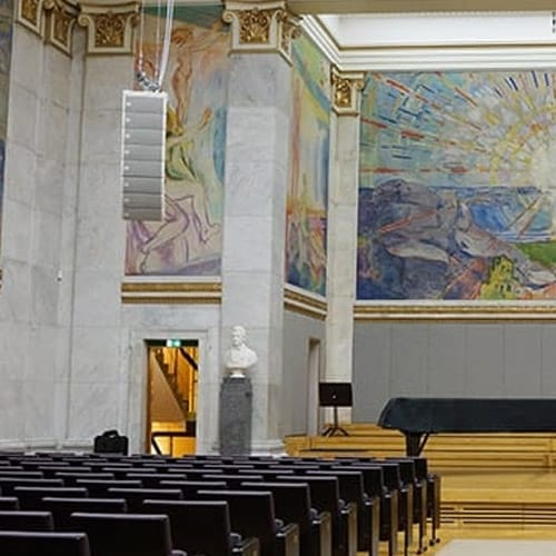MLA Mini Chosen for Oslo Uni's Famous Aula