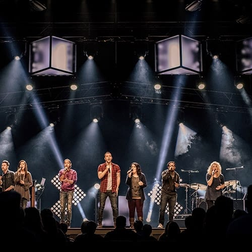 Clark Outfits Woodstock City Church with Martin Audio