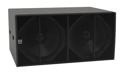 CSX-LIVE 218 | Dual-driver, Direct Radiating Powered Subwoofer | CDD-LIVE! Series