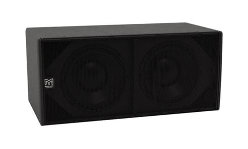 CSX212-WR Direct radiating 2 x 12[inch] Subwoofer, Fly Points and Weatherised