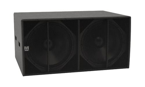 CSX218-WR Direct radiating 2 x 18[inch] Subwoofer, Fly Points and Weatherised