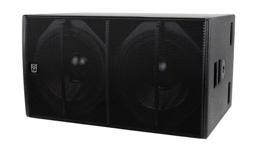 Blackline X218. Direct radiating subwoofer, Dual-Driver 18""