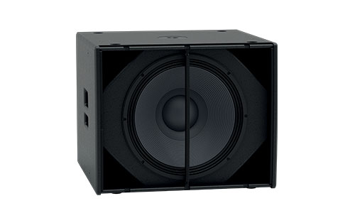 XP118. Compact, Self-powered Subwoofer.