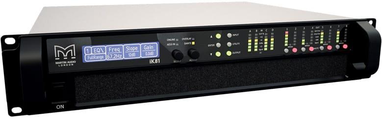 Ikon Ik81 High Power Eight Channel Class D Amplifier